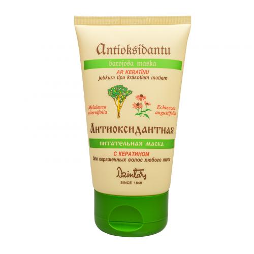 Антиоксидантная питательная маска для окрашенных волос любого типа, 150 мл