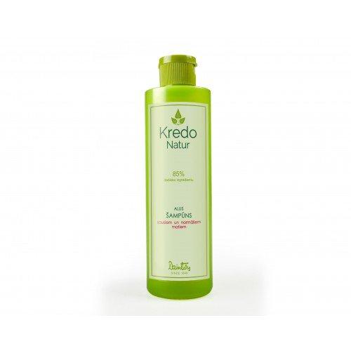 Kredo Natur Пивной шампунь для сухих и нормальных волос, 250 мл