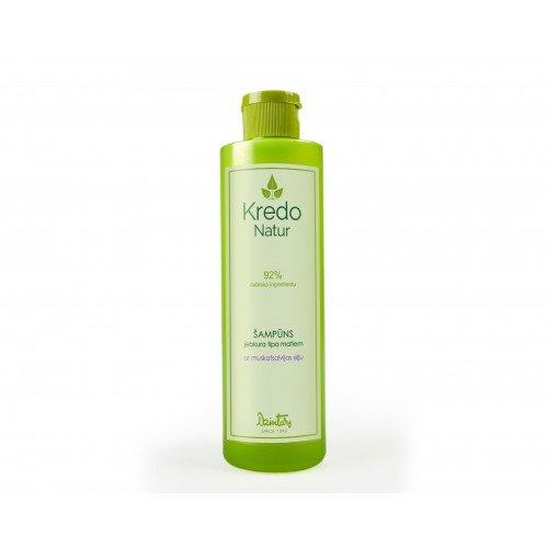 Kredo Natur Шампунь для любого типа волос с маслом шалфея мускатного, 250 мл