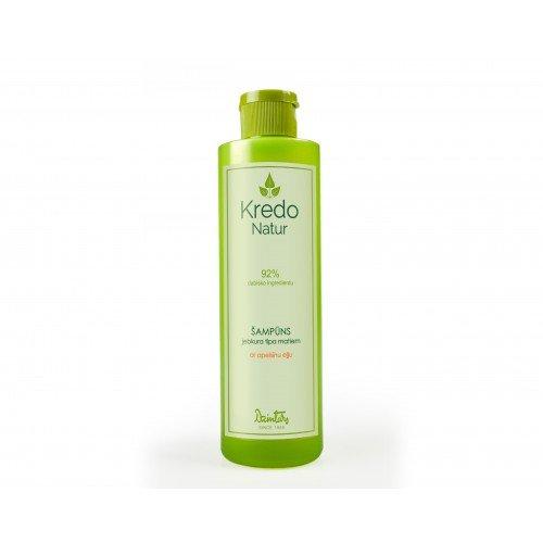 Kredo Natur Шампунь для любого типа волос с апельсиновым маслом, 250 мл