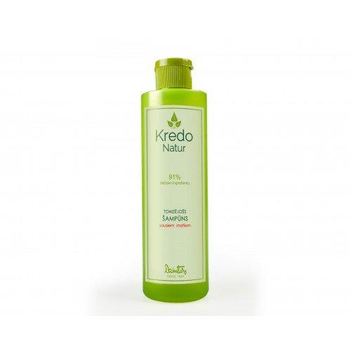 Kredo Natur Тонизирующий шампунь для сухих волос, 250 мл