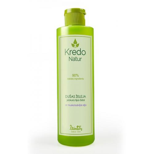 Kredo Natur Гель для душа для любого типа кожи с маслом шалфея мускатного, 250 мл