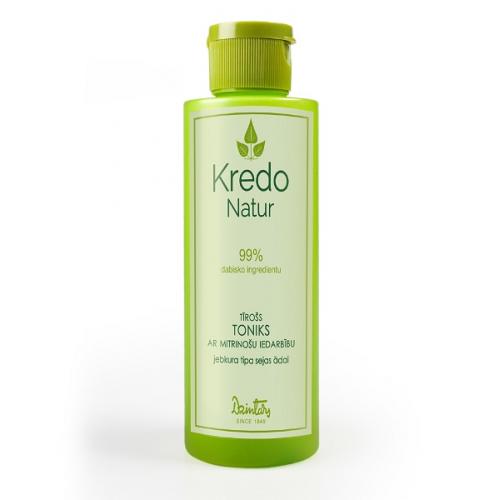 Kredo Natur Очищающий тоник с увлажняющим действием для любого типа кожи лица, 150 мл