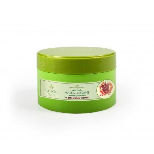 Kredo Natur Питательная маска – йогурт для любого типа волос с ароматом граната, 250 мл