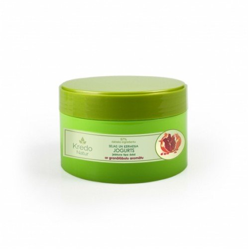 Kredo Natur Йогурт для лица и тела для любого типа кожи с ароматом граната, 250 мл