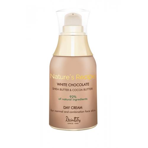Nature's Recipe Белый шоколад. Дневной крем для нормальной и комбинированной кожи лица, 50 мл