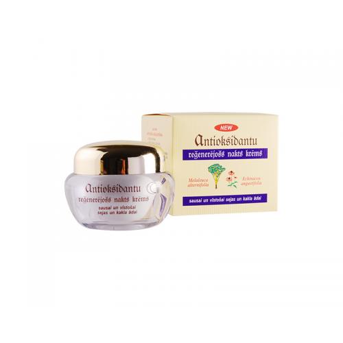 Антиоксидантный регенерирующий ночной крем для сухой и увядающей кожи лица и шеи, 50 мл