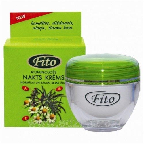 FITO Ночной восстанавливающий крем для нормальной и сухой кожи лица, 50 мл
