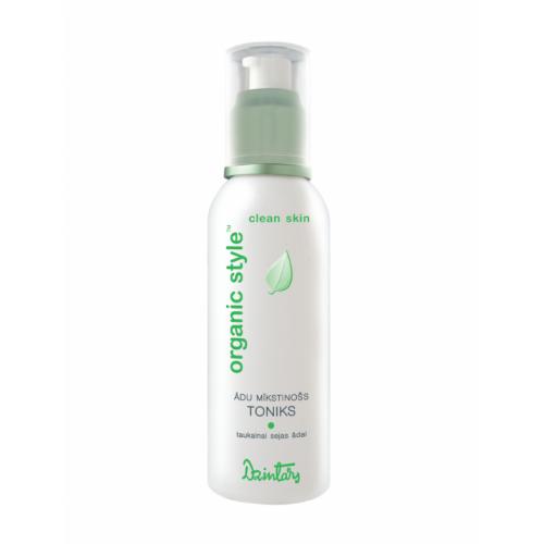 Organic Style Clean Skin Смягчающий кожу тоник для жирной кожи лица, 150 мл