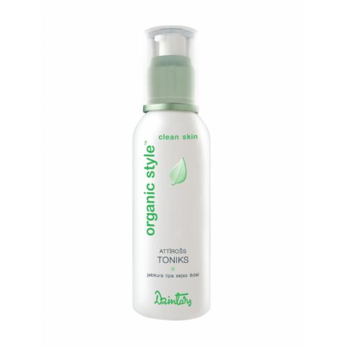 Organic Style Clean Skin Очищающий тоник для любого типа кожи лица, 150 мл