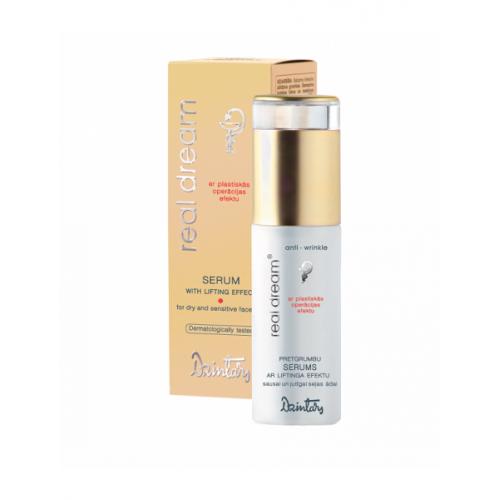 Real Dream Anti-Wrinkle Сыворотка от морщин с эффектом лифтинга для сухой и чувствительной кожи лица, 35 мл