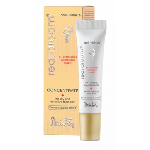 Real Dream Anti-Wrinkle Концентрат от морщин для сухой и чувствительной кожи лица, 10 мл