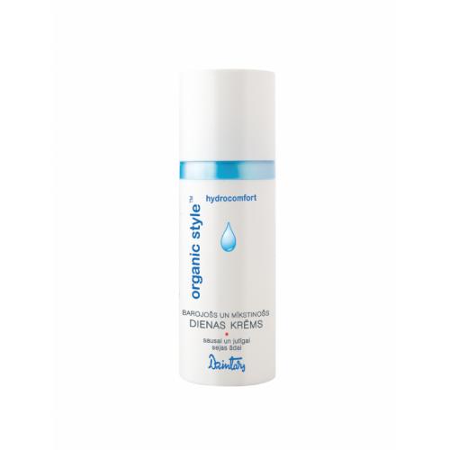 Organic Style Hydrocomfort Питательный и смягчающий дневной крем для сухой и чувствительной кожи лица, 50 мл