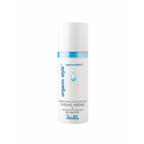 Organic Style Hydrocomfort Питательный и увлажняющий дневной крем для нормальной и комбинированной кожи лица, 50 мл