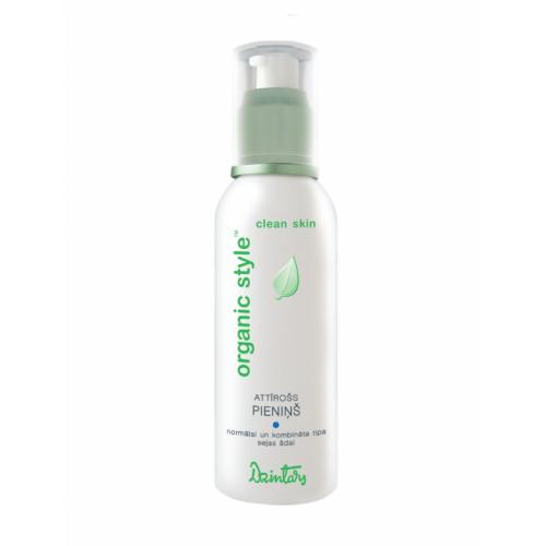 Organic Style Clean Skin Очищающее молочко для нормальной и комбинированной кожи лица, 150 мл