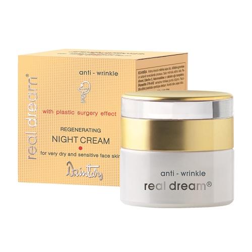 Real Dream Anti-Wrinkle Регенерирующий ночной крем от морщин для очень сухой и чувствительной кожи, 50 мл