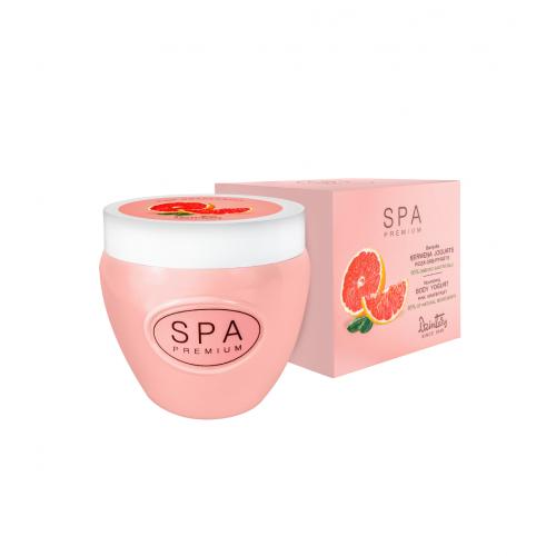 SPA Premium Питательный йогурт для тела. Pозовый грейпфрут, 200 мл