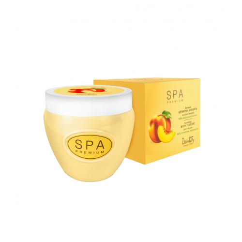 SPA Premium Питательный йогурт для тела. Сочный персик, 200 мл