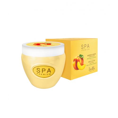 SPA Premium Твердое масло для тела. Сочный персик, 200 мл