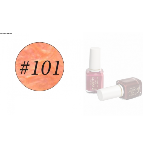 Kredo Lux Лак для ногтей тон, 101, 7 мл