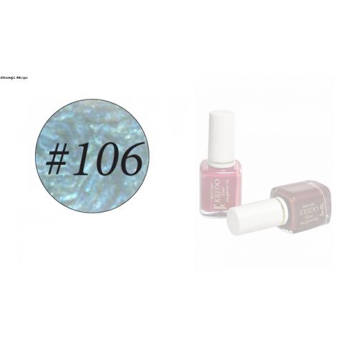Kredo Lux Лак для ногтей, тон 106, 7 мл